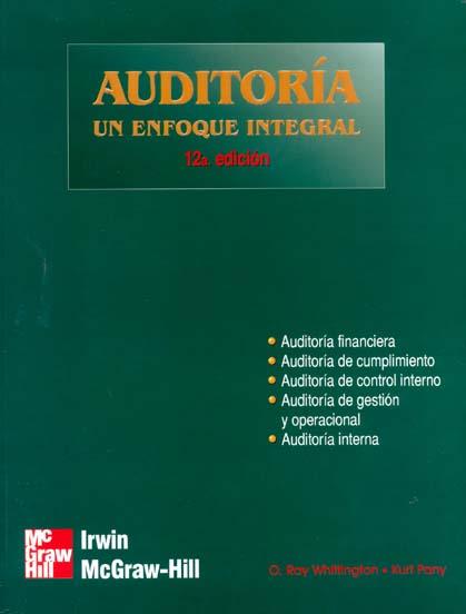 libro auditoria un enfoque integral arens