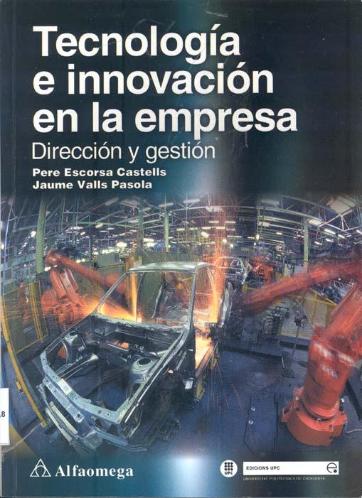 tecnologia e innovacion en la empresa.pere escorsa castells